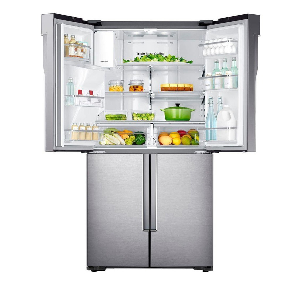 Samsung 22.5 cu.Ft 4-door, French Door Refrigerator SS RF23J9011