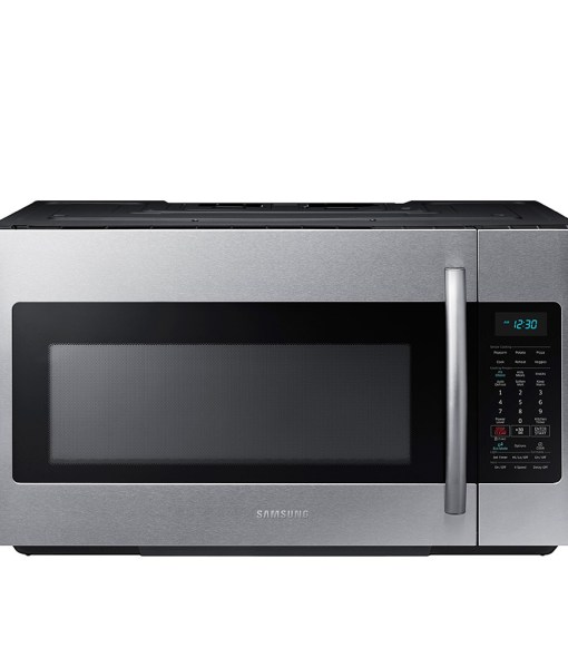 Samsung 1.7 Cu. Ft. Over-the-Range Microwave - SS ME18H704SFS/A