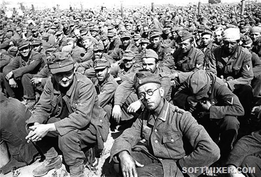 Пленные немцы после войны