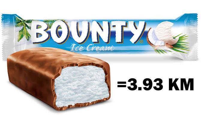 Шоколадный батончик Баунти