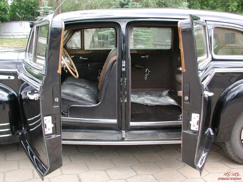 ЗИС-115 интерьер авто, восстановление, зил, зис, зис-115, олдтаймер, реставрация, сталин