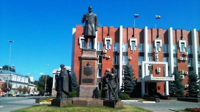 Картинки по запросу фото Памятник Столыпину в Саратове