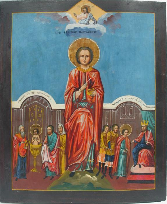 Святой Пантелеймон Целитель икона