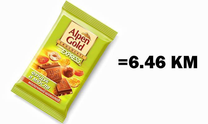 Плитка шоколада Alpen Gold (90грамм)
