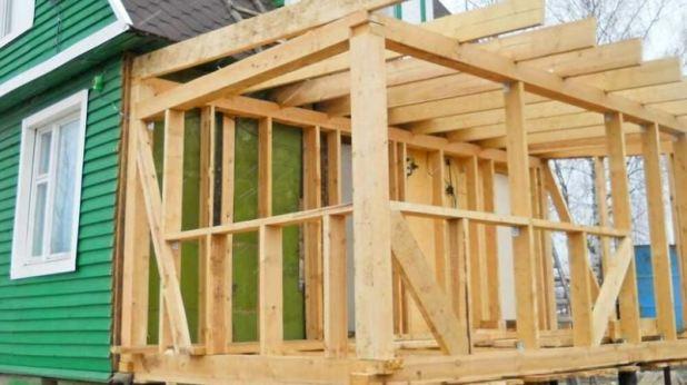 Как сделать пристройку к деревянному дому
