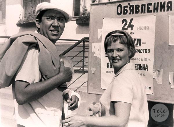 Любимые актеры Леонида Гайдая