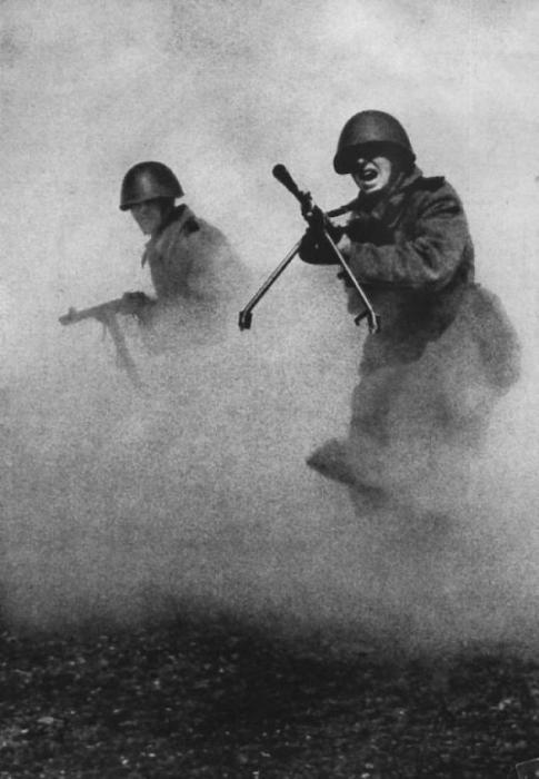 Наступление советских войск война, фото, фотокорреспондент