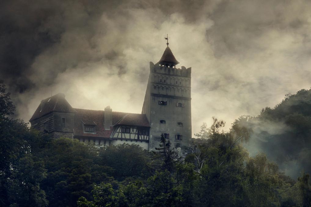 Замок Дракулы в Трансильвании (Румыния). Фото