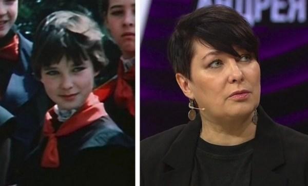 Наталья Шанаева, воплотившая образ Лены Домбазовой