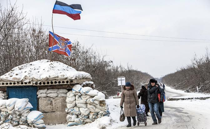 Поступило предложение признать независимость народных республик Донбасса