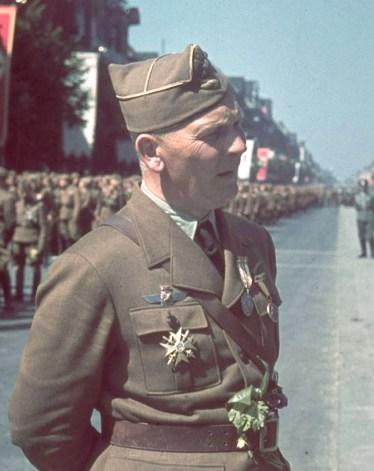 Командующий 8-м воздушным корпусом Вольфрам фон Рихтгофен после возвращения из Испании в 1938 году. time.com - Битва за Крит: накануне схватки | Военно-исторический портал Warspot.ru
