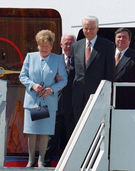 Наина и Борис Ельцины