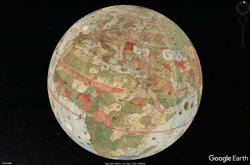 Загадочная карта мира Урбано Монте