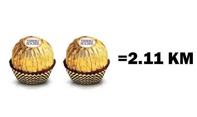 Две конфеты Ферреро Роше