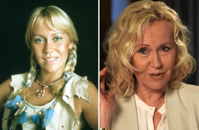 Агнета Фельтског тогда и сейчас   Фото: worldi.ru