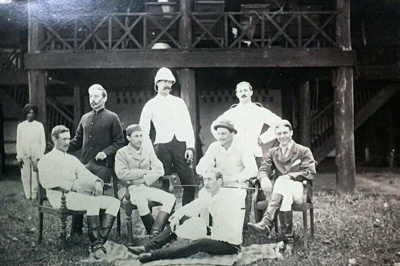 Уникальные снимки: британские колониалисты в Бирме бирма, великобритания, исторические фото, история, история в картинках, колониализм, офицеры, фотографии