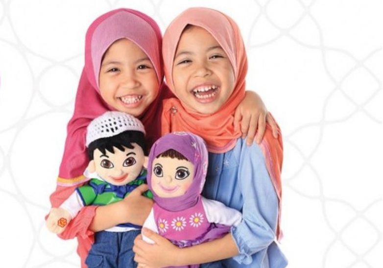 Мусульманские дети и их игрушки
