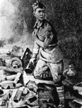 14 летний герой Сталинграда