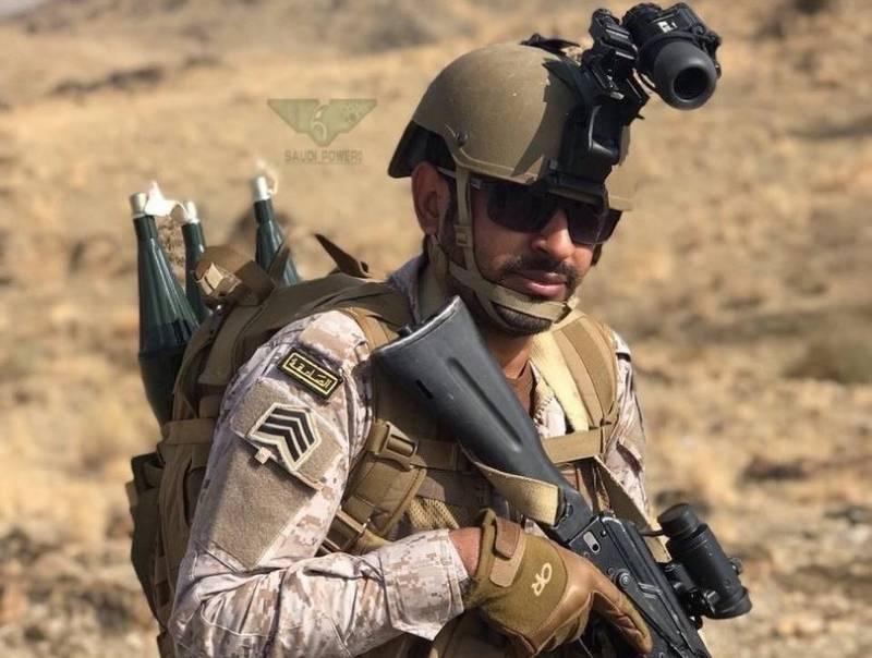 Саудовский спецназ предпочёл российские автоматы