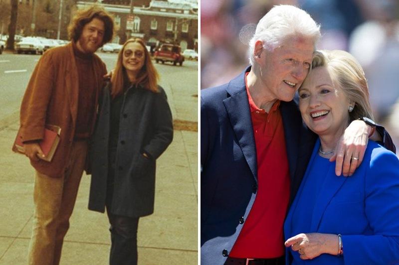Билл и Хиллари Клинтон. Политики в молодости: вот как они выглядели (фото)