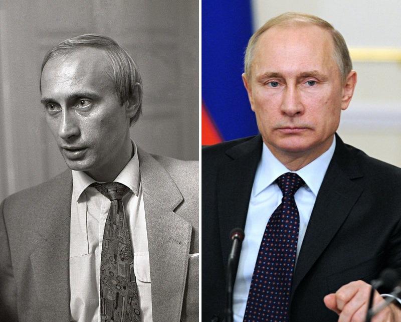 Владимир Путин. Политики в молодости: вот как они выглядели (фото)