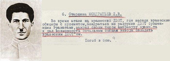 Герои Великой Отечественной войны, повторившие подвиг Александра Матросова