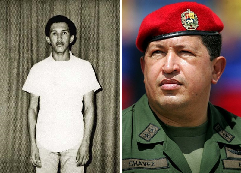 Уго Чавес. Политики в молодости: вот как они выглядели (фото)