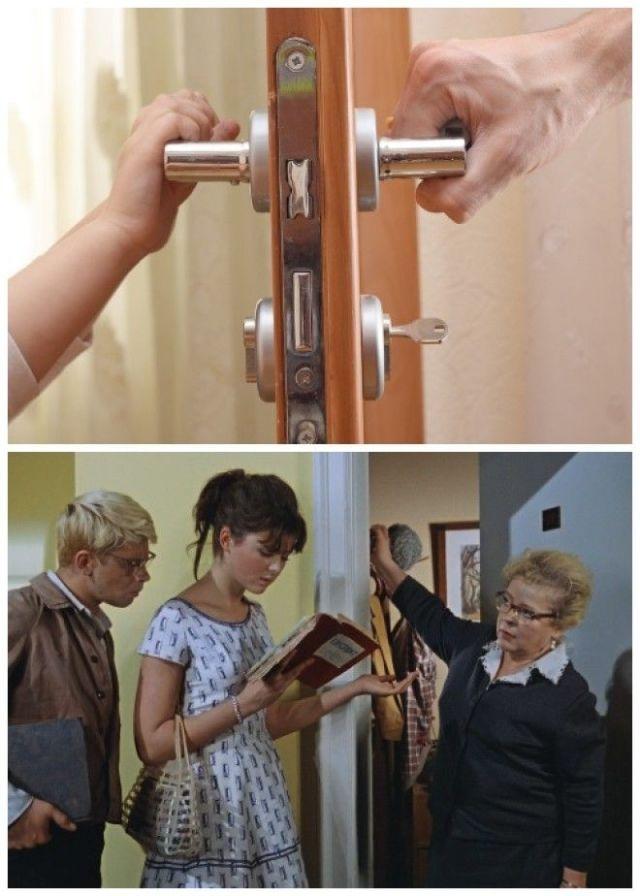 По противопожарным нормам входная дверь должна открываться внутрь в квартиры