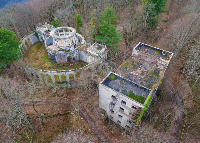 Заброшенные места России. Мистическая красота