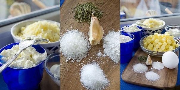 Шикарный рецепт для любителей сыра — Сырная лепешка на творожном тесте