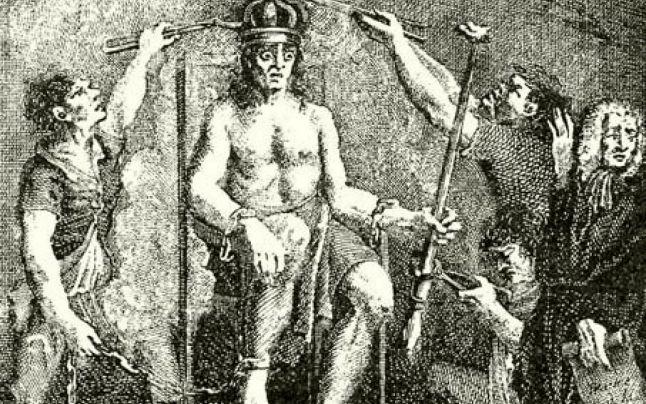Казнь Дьердя Дожи. Мучительная смерть: самые мучительные человеческие смерти в истории