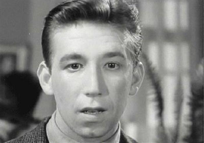 Борислав Брондуков в фильме *Цветок на камне*, 1962