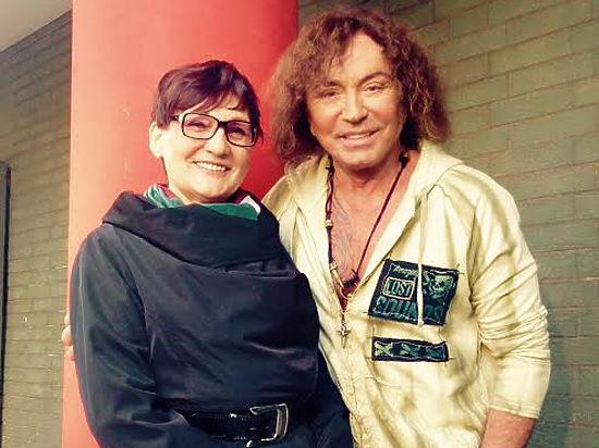 Валерий Леонтьев на фото с женой Людмилой Исакович