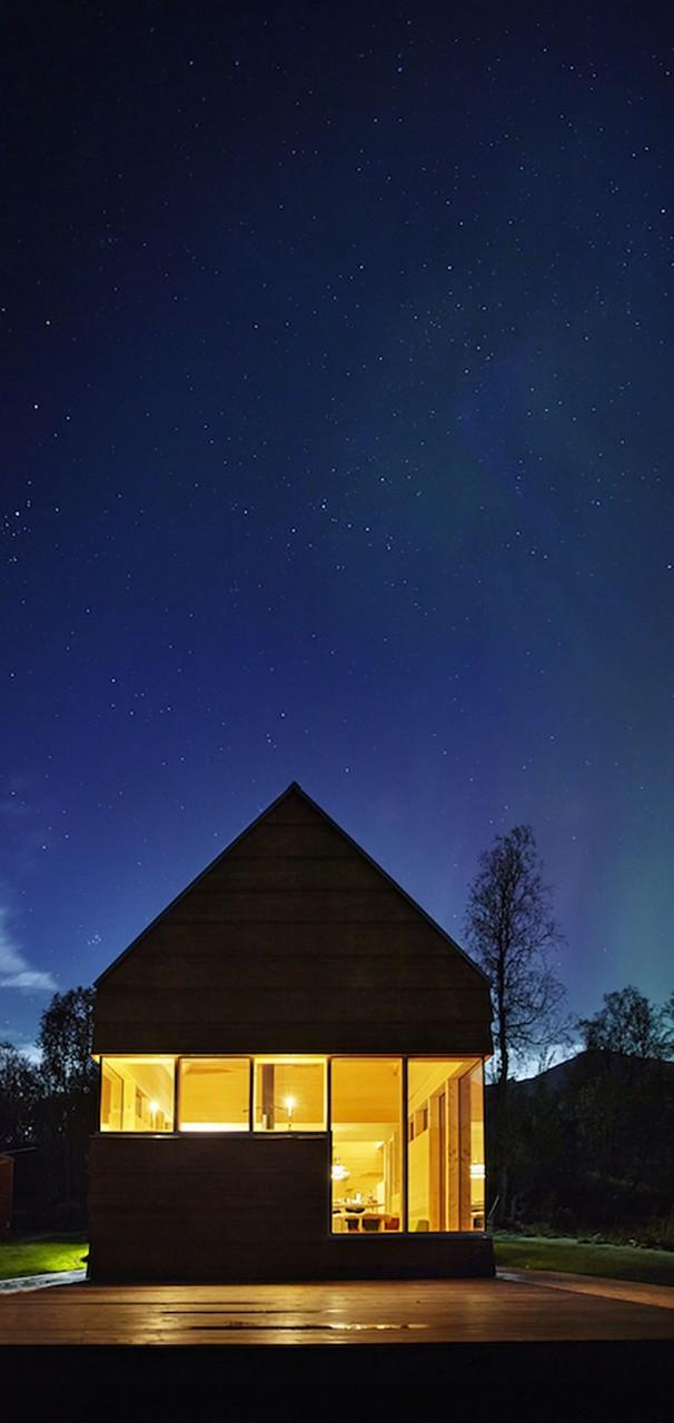 Дачный домик в Норвегии