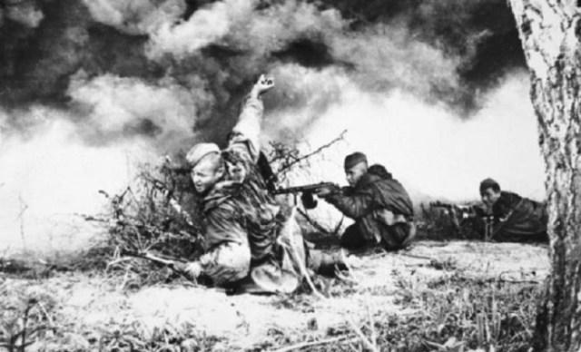 Советские разведчики в бою война, фото, фотокорреспондент