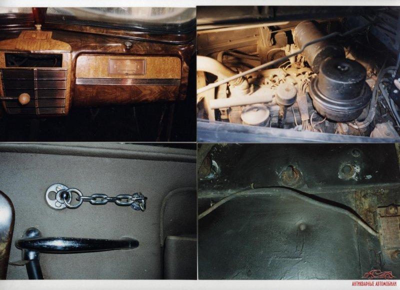 Как Вам комплектность и сохранность? авто, восстановление, зил, зис, зис-115, олдтаймер, реставрация, сталин