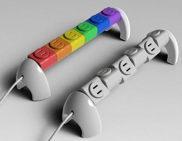 14. Сетевой фильтр-пазл быт, жизнь, идея, изобретение, мир, подборка, фото