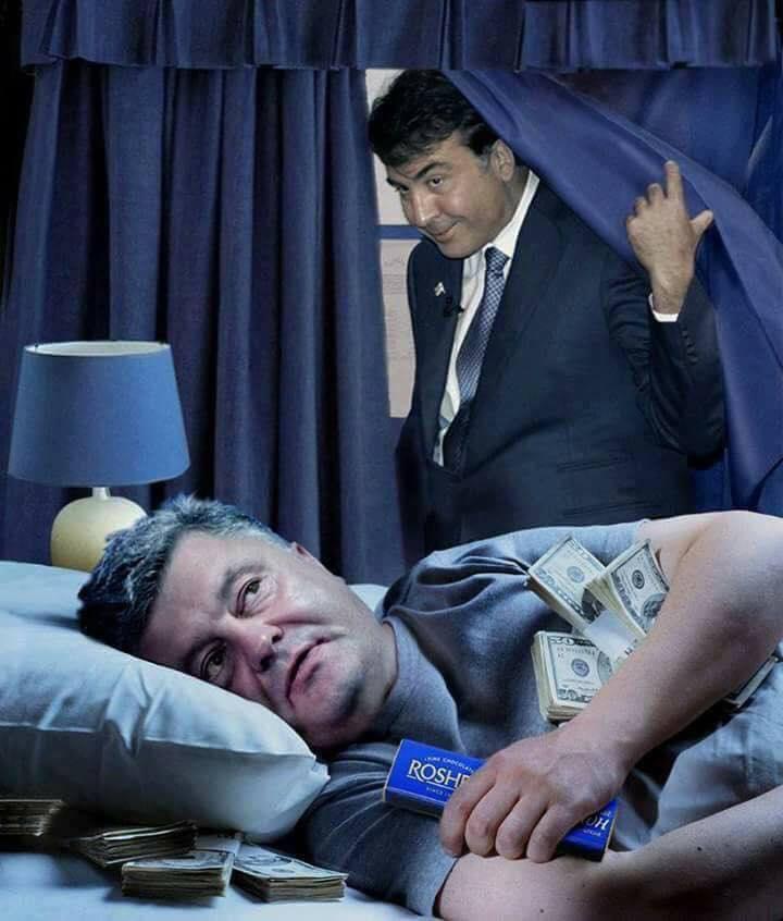 Саакашвили переигрывает Порошенко