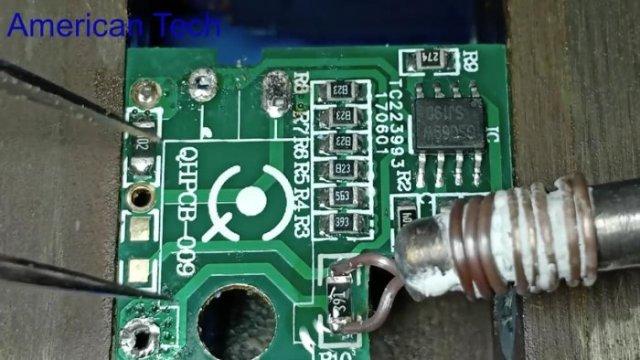 Самодельное приспособление для демонтажа SMD без фена