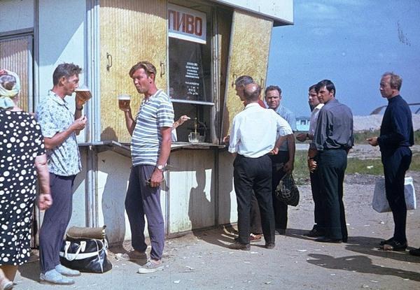 Пиво в СССР - вот как за ним стояли в очереди