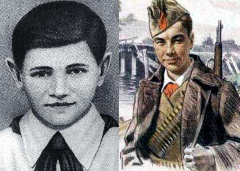 В этот раз мы расскажем о Валентине Котике - самом юном из числа удостоенных звания Героя Советского Союза участнике войны. Валя Котик, Велика Отечественная война, герой советского союза, молодой Герой