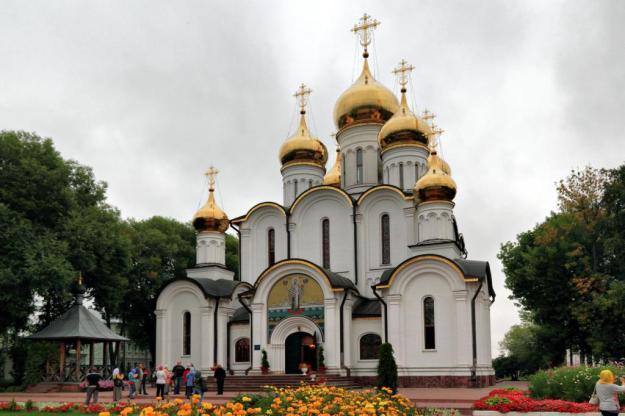 Монастырь в России