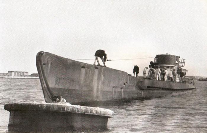 U-530 после сдачи аргентинским властям. вторая мирова война, история