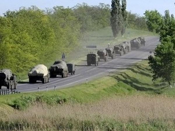 Россия перебросила тяжелые реактивные системы к границе с Донбассом