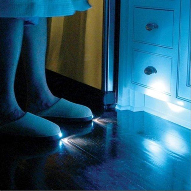 9. Ходить ночью к холодильнику и не запинаться об углы гениальные вещи, дизайн, идеи, интересно, просто и гениально, фото