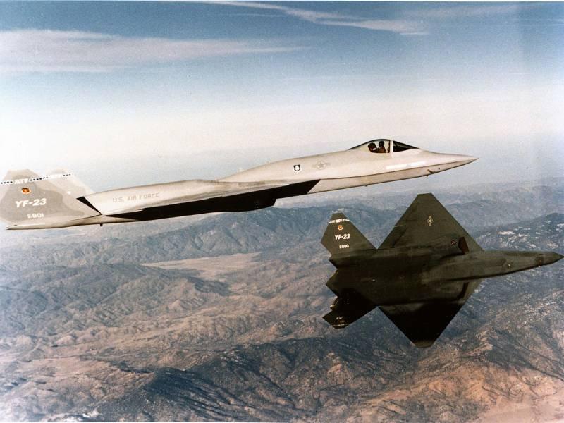 Бесславный конец «Чёрной вдовы». Почему проиграл YF-23