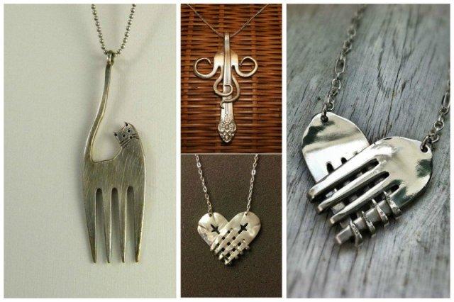 Украшения - просто загляденье! вилки, ложки, ножи, сделай сам, столовые приборы, умельцы, фантазия