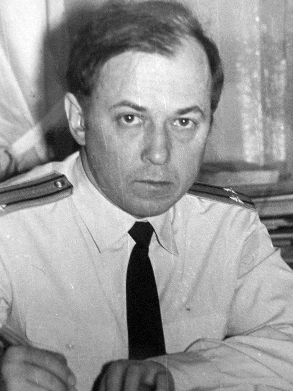 "Командир АПЛ К-278 ""Комсомолец"" Евгений Ванин. / из личного архива"