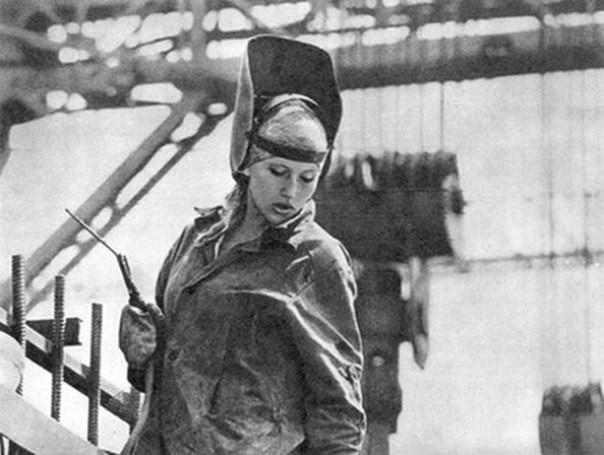 Девушки СССР Фотографии, на которых видна неподдельная красота война, девушки, история, ссср, факты