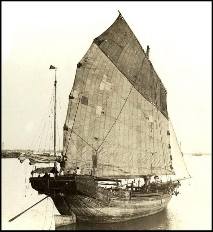 Китайская джонка. исторические фото, история, китай